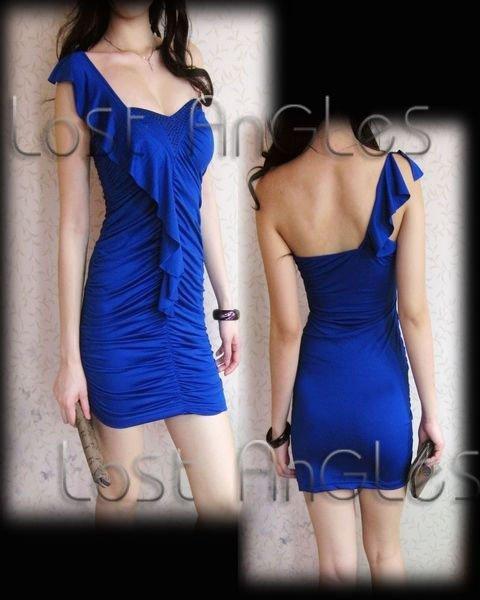 ... party dress fashion dress sexy evening dress casual elegant dress blue