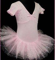 Детская одежда для девочек and Retail all kinds of dance clothing#B206 red color latin dance dress, tutu ballet dress, girl dress