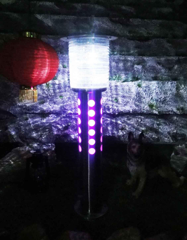 solar garden lights wholesale retail in solar lamps from lights. Black Bedroom Furniture Sets. Home Design Ideas