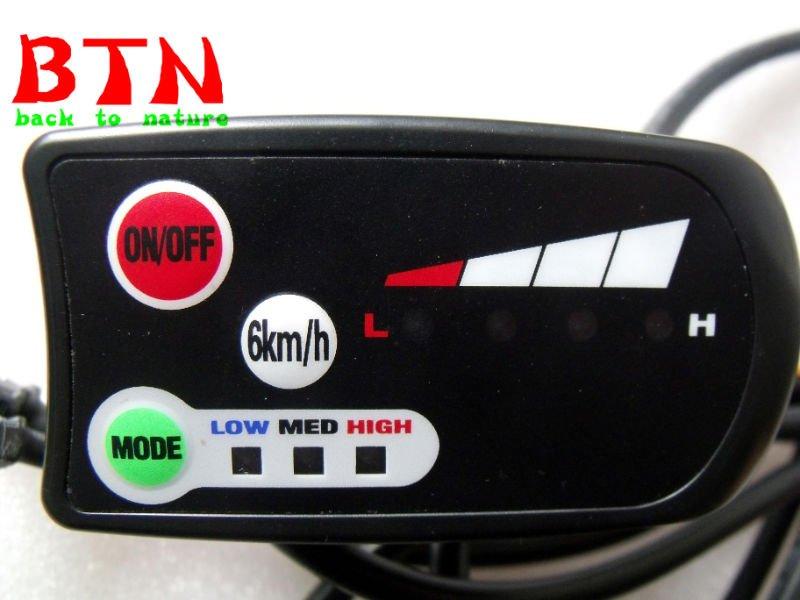 E-bike display meter for the e-bike conversion kit