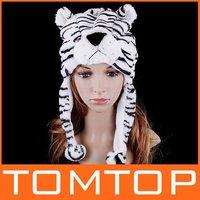 Женская шапка 8pcs/lot, Multifunctional Cartoon Animal Hello Kitty Hat Plush Soft Warm Cap