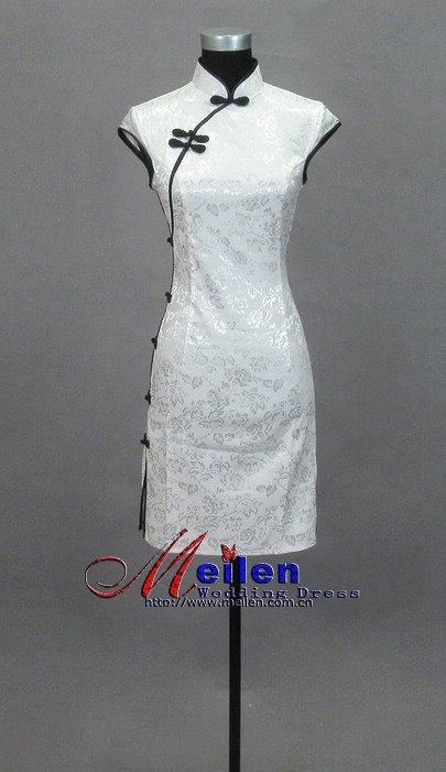 ... Chinese dress/Chinese-style clothing/short Chinese dress/one-pi