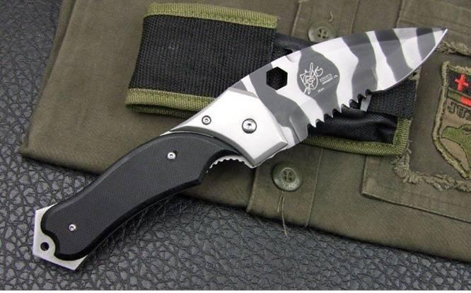 Black Butterfly Knife