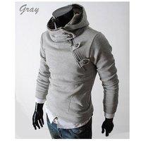 новые моды флис с капюшоном толстовки верхняя куртка хлопка Пальто Пиджаки мужчин slim fit кроватка