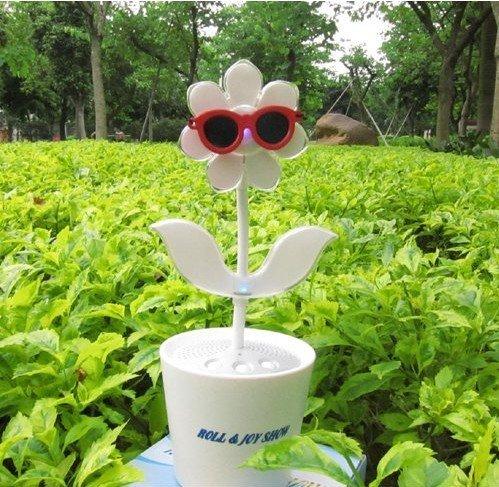 factory wholesale Tomy Flower Rock, LED Electronic Flowers, Music Flowers,Dancing Speaker,USB Mini S ...