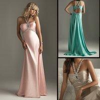 Вечернее платье EV1043 Sheath floor-lenght sleeveless high-quality chiffon beaded Prom Dress/Evening Dress