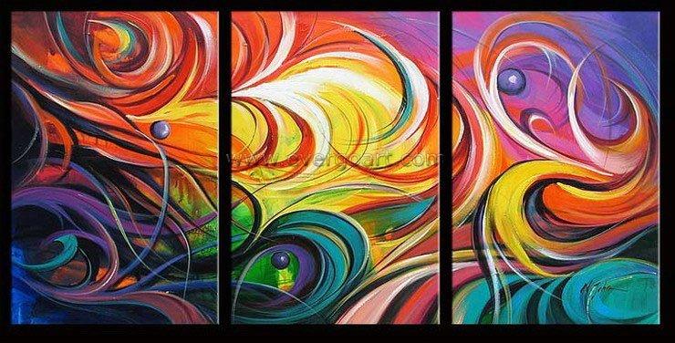 Картины в абстракции своими руками фото
