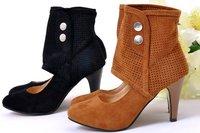 Женские ботинки NEW, unique fashion design inside heighten, plus size ladies sandals