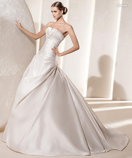 Elegant Puffy WEDDING DRESS BRIDAL GOWN Size 430 New
