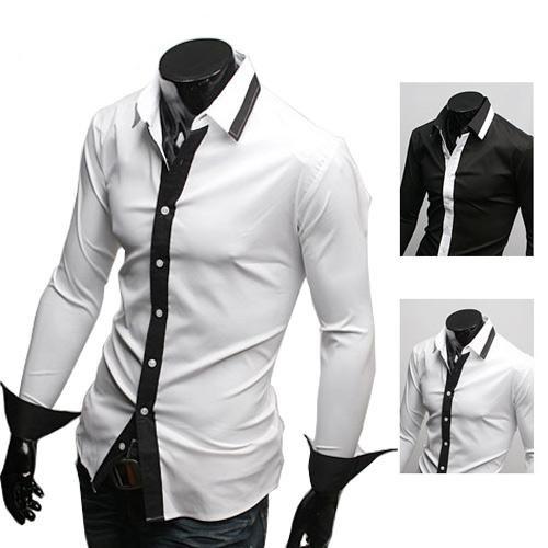 White Black Shirt | Is Shirt