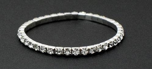 free shipping Wholesale accept paypal 10pcs min order crystal elastic alloy bracelet