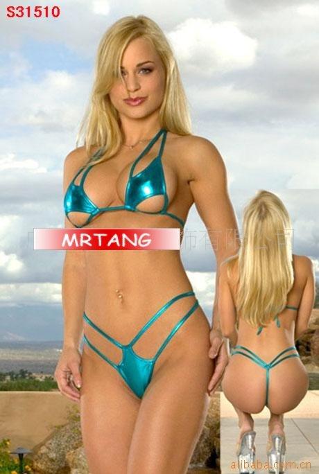Sexy Women's Swimwear Bikini Halter chemise T Panty Translucent Underwear ...