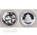 panda 1 oz 999 silver coin