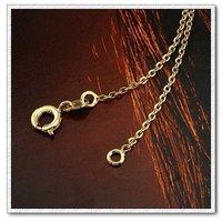 Moda collar de cobre con collar de oro 18k, un collar de joyas, Gastos de envío gratis (China (continental))