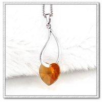 Ювелирная подвеска Copper with 18k gold plated hand shape necklace pendant