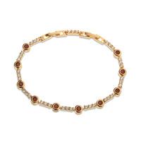 Pulsera de moda, de cobre, con pulsera de oro 18k, reloj pulsera, envío gratis (China (continental))