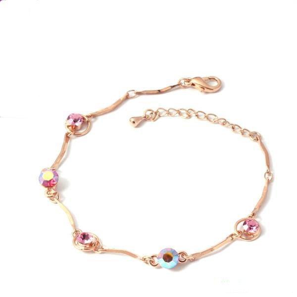 free shipping Wholesale accept paypal 10pcs min order  crystal beads gold bangle