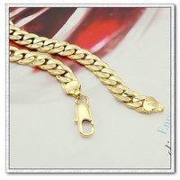 Moda clásico collar, collar de cobre con baño de oro 18k, Gastos de envío gratis (China (continental))