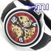 Наручные часы Gold Rome White Skeleton Automatic Stainless Watch 066ship