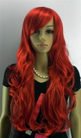 Парик Heat OK Lace Front Wig Long Wavy Brown Auburn Mix