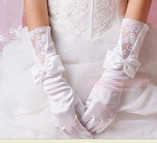 Free shipping Free shipping 100 guarantee new wedding gloves bridal