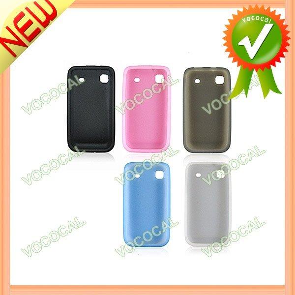 5pcs for Samsung i9000 galaxy S Case, Silicone Cover, Free Sample, Mini Order 1 pcs
