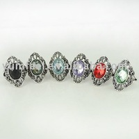 Кольцо Metal owl rings fashion cute owl finger rings girls rings mixed colors