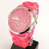 Наручные часы Fashion Purple Boys Girls Analog Quartz Wrist Watches
