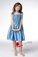 Платье для подружки невесты Custom-made Mermaid Sleeveless Satin Floor-length Bridesmaid Dresses WATE-5218