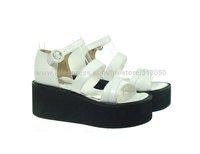 Женская обувь на плоской подошве 2011 new creeper wedge platform sole lolita gothic shoes woman