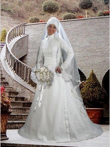 فساتين زفاف روعه للمحجبات وجديده ومتنسوش التقييم