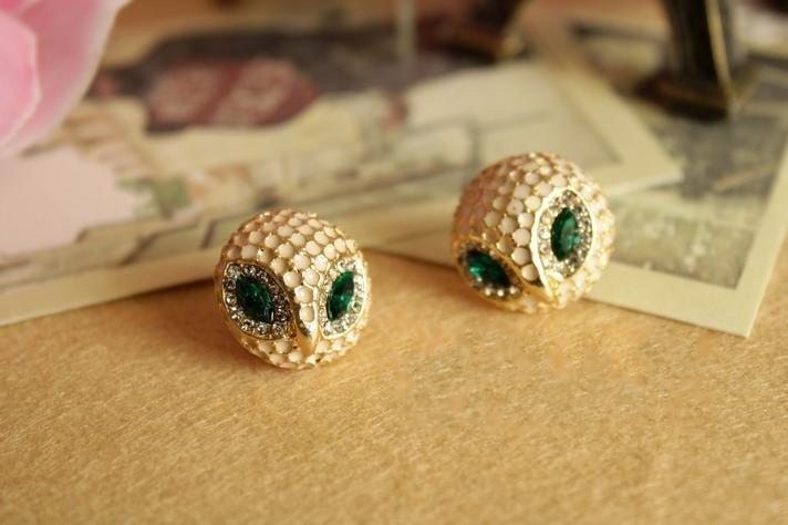 Free sample  retro owl Earrings, Love Jewelry.ET fashional accessary-Retail