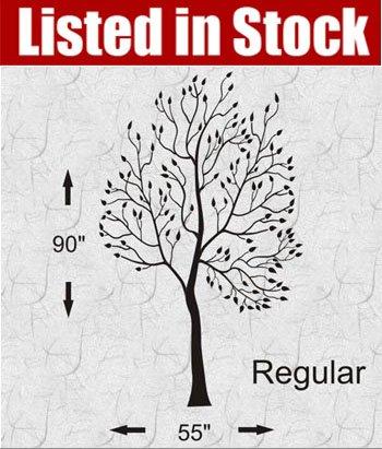 tree silhouette wall sticker. Stock]Graphic Wall Sticker