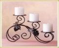 SALE!!! Free Shipping Europe style classic iron candle holder/ candlesticks/ art candleseat/ candleholder