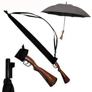 Hand free umbrellas and strap or belt umbrellas