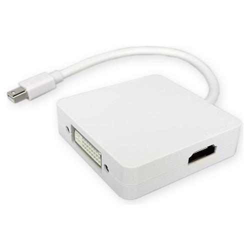 3 in1 Mini Display Port To HDMI DVI DP Converter