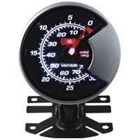 """Панельный прибор для мотоциклов 2.5"""" 60 MM AP boost gauge black and white face"""