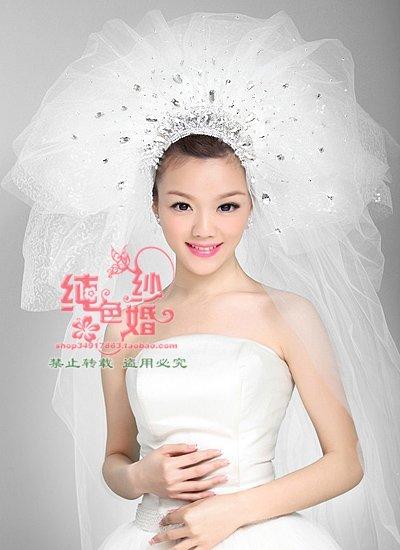 Wedding Veils  Accessories on Bridal Veils 3 Layers Bridal Wedding Veil Extra Long Bride Dress Veil