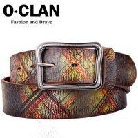 Женские ремни и Камербанды OLDCLAN genuine leather belt for men + fashion designer lady leather belt hot selling gift box FGB04072