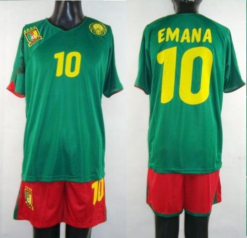 Cameroon Soccer Jerseys #10 green Cameroon football Jersey Ghana National team soccer jersey 201 ...
