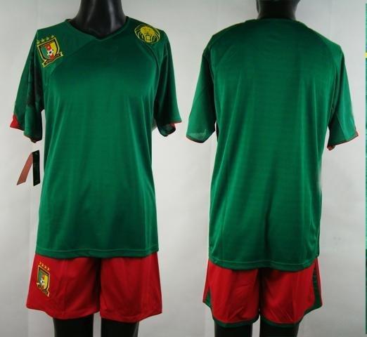 Cameroon Soccer Jerseys Cameroon 2010 Home Soccer Jersey Ghana National team soccer jersey 2010  ...