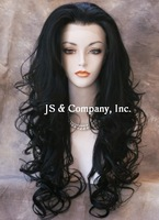 25 inches NEW Style LACE FRONT WIG Long Wavy Brown & Auburn