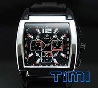 Men Flywheel Automatic Mechanical Moon Phase Watch