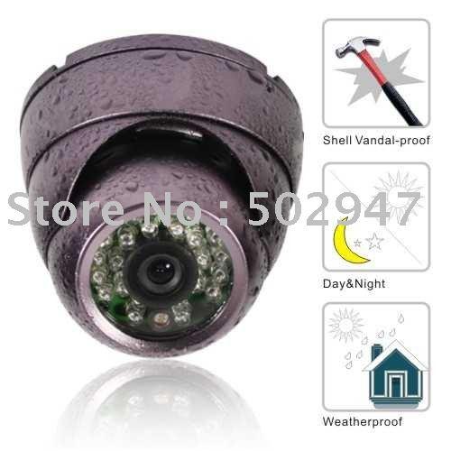 (8)Wholesale Sony 560TVLine 24 IR camera AR-T204P