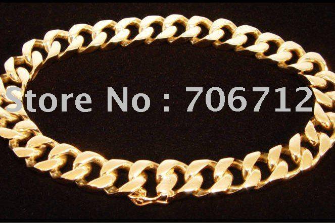gold link bracelet. Bracelets Type: Chain amp; Link