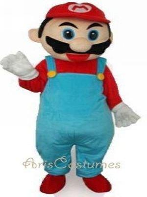 Cartoon Characters Mario. Mario Mascot Costume Cartoon Characters