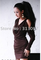 free shipping  wholesale manufacturers supply new fashion high-quality long dress(MOQ: 1pc) #418-676