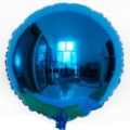 18 inch Blue Round shape HELIUM Foil Balloons For Wedding Party Birthday party ,100pcs/lot,free shipping