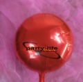 18 inch Red Round shape HELIUM Foil Balloons For Wedding Party Birthday party ,100pcs/lot,free shipping