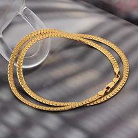 Corazón de la moda forma collar, collar de cobre con baño de oro 18k, collar de joyas, Gastos de envío gratis (China (continental))